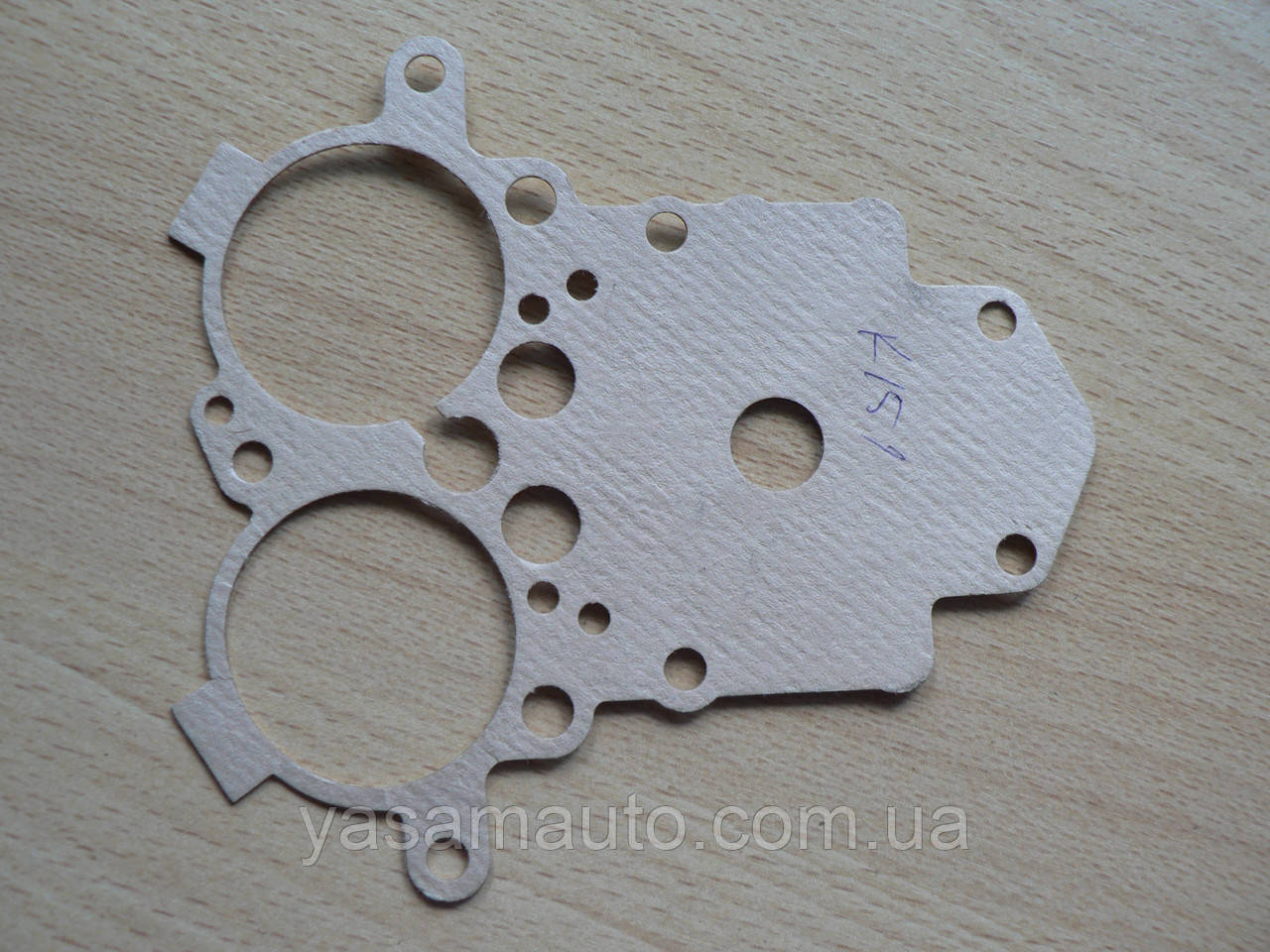 Прокладка карбюратора верхня з картону К151 ГАЗ 2410, газ-3102, 2410 31029 -1107012