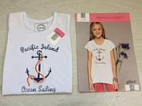 Хлопковая футболка с якорем для Вашей девочки от alive