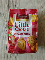 Заварное печенье Coppenrath Little Cookie со вкусом клубники, 100гр