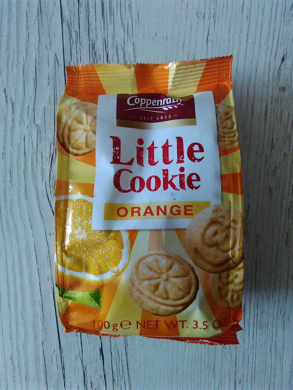 Заварное печенье Coppenrath Little Cookie со вкусом апельсина, 100гр