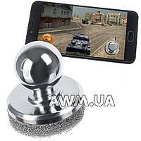 Кнопка Джойстик на присоске для планшета и смартфона стальной