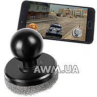 Кнопка Джойстик на присоске для планшета и смартфона черный