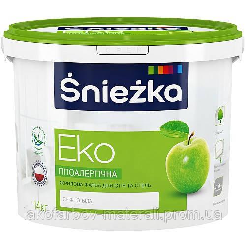 Śnieżka Eko Снежка-ЭКО Гипоаллергенная краска для стен и потолков