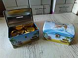Сундук-копилка с шоколадными конфетами Piraten Schatz, 200 г., фото 2