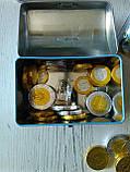 Сундук-копилка с шоколадными конфетами Piraten Schatz, 200 г., фото 4