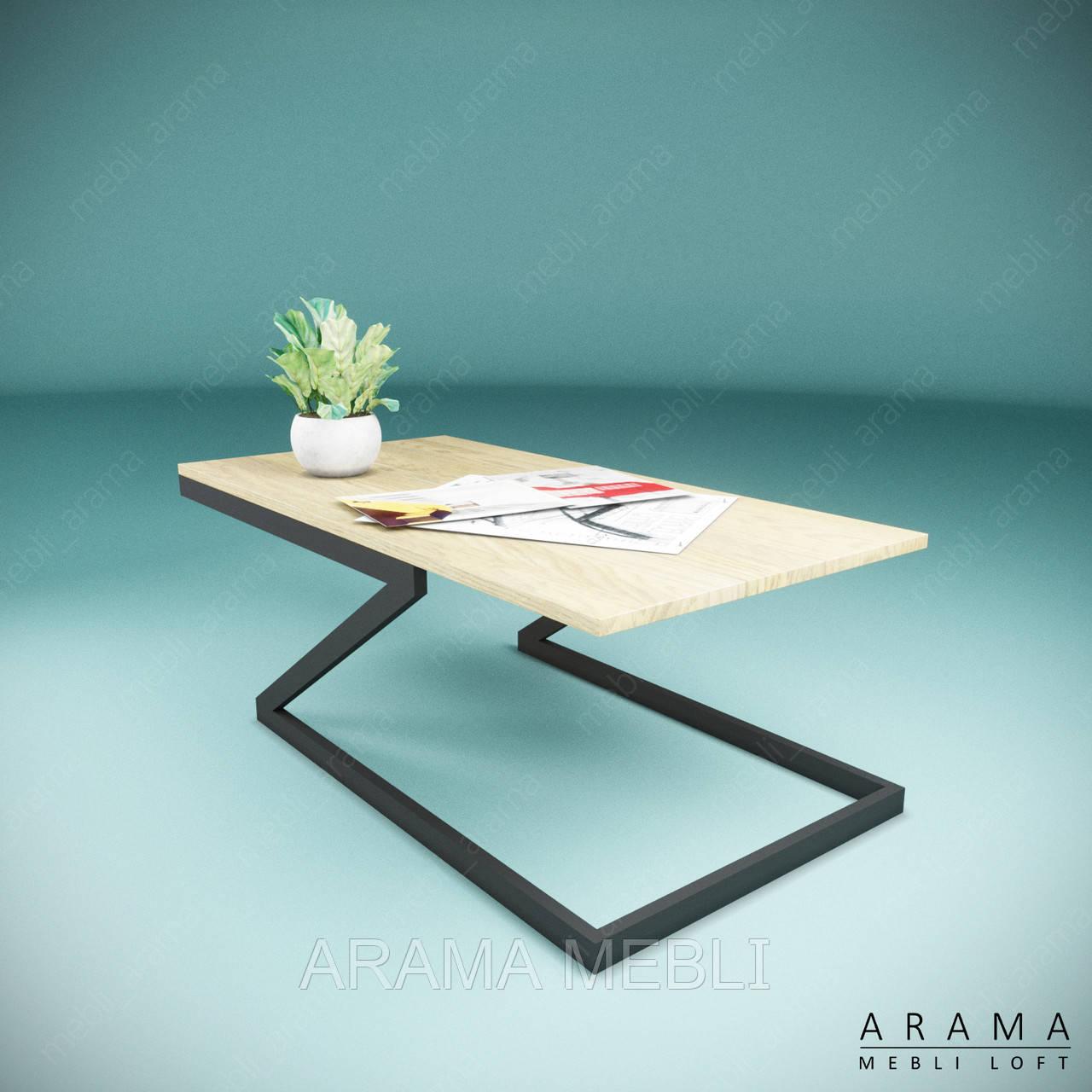 Журнальний стіл лофт Z