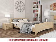 Кровать Венеция  ТМ Эстелла (деревянная бук, полуторная, двуспальная, односпальная)