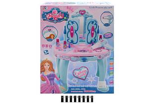 Детский столик с зеркалом трюмо 008-906, коробка р. 38*14*51 см