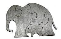 """Пазл дерев. """"Слон-пазл"""" для раскрашивания"""