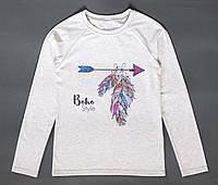 Кофта для девочки-подростка G 0034 Boho с.серая