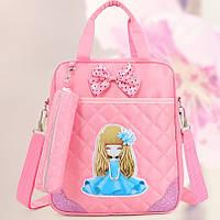 Школьный рюкзак Маленькая Леди розовый