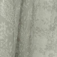 Тюль лен серо-белый, фото 1