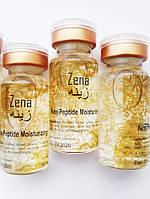 Концентрат  увлажняющий, 9 пептидов для мезороллера, дермаштампа, Zena, Канада, 10 мл.