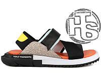 Женские сандали Adidas Y-3 Kaohe Sandal Black/V-Blue/Supcol B23722