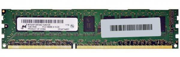 Память DDR3 1Gb 1333MHz PC3-10600E Micron и др. Оригинал! ОЗУ ECC