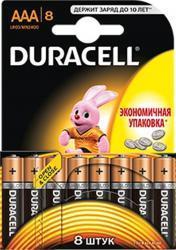 Батарейка Duracell AAA MN2400 LR03 * 8шт (81417099)