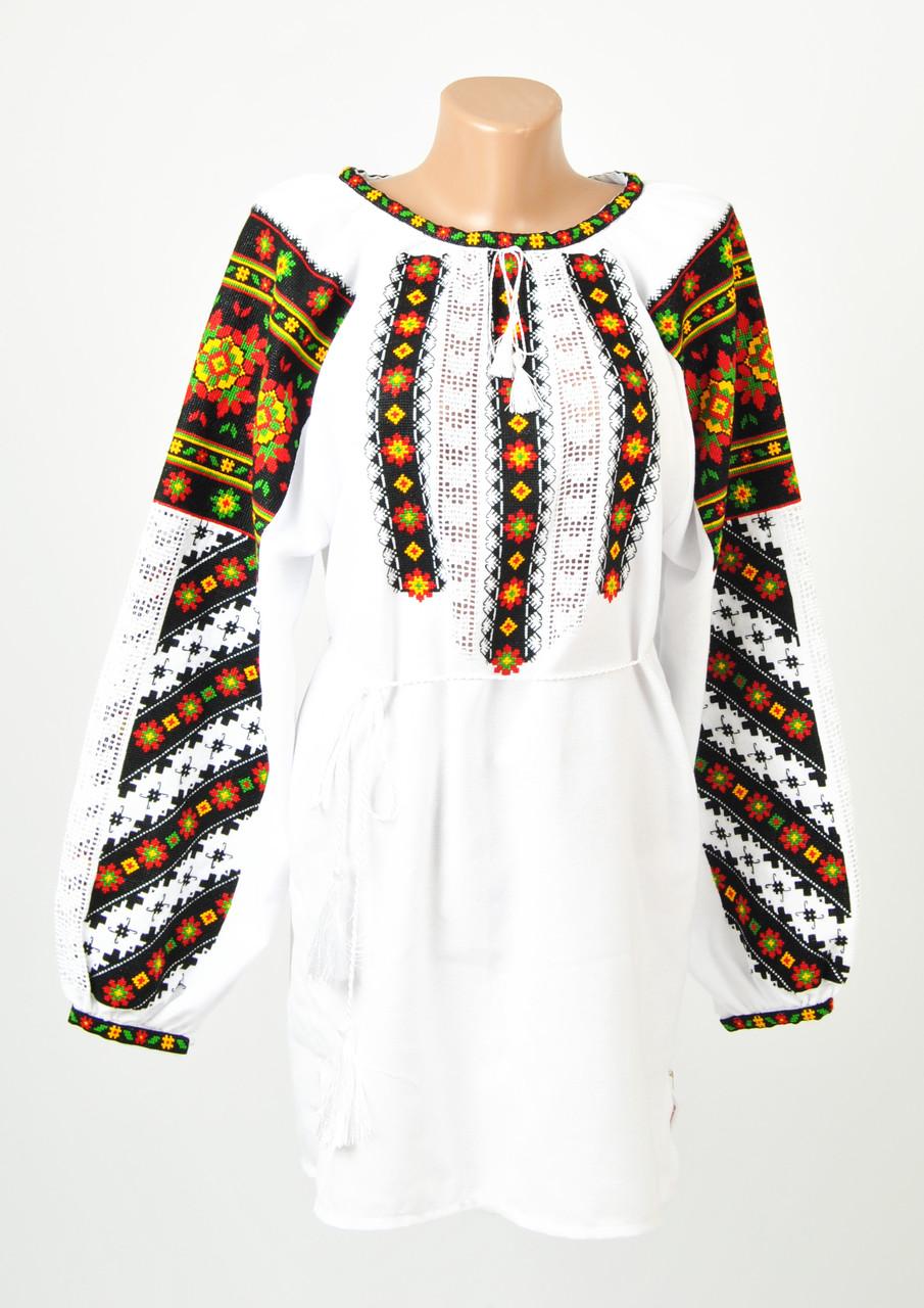 Жіноча оригінальна вишиванка ручної роботи на домотканому полотні ... a8803cbedc46a