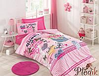 Подростковое постельное бельё Cotton Box QUEEN PEMBE