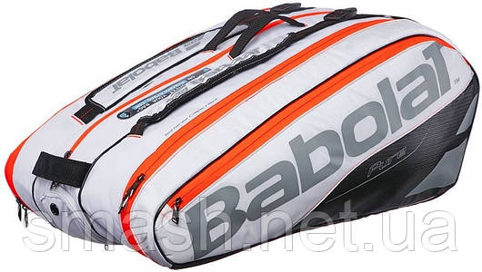 Чехол для теннисных ракеток BABOLAT X12 PURE WHITE