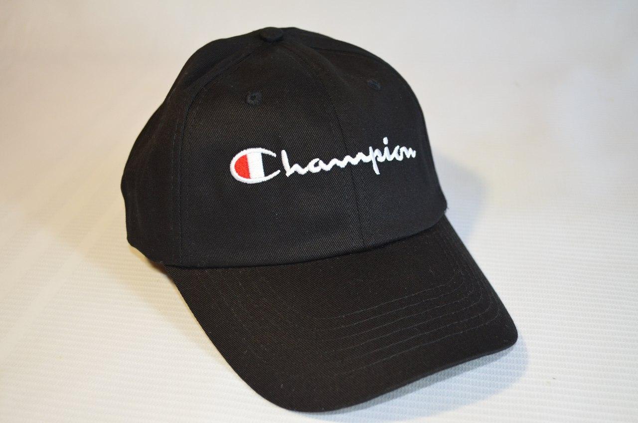 Кепка Бейсболка Champion Black  продажа f5431396ec60f