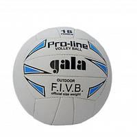 Мяч волейбольный сшитый Gala White/Blue/Black