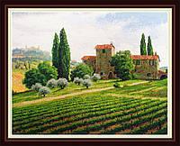 Набор для вышивания нитками Виноградники