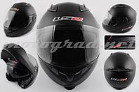 Шлем модуляр LS2 FF370-1 черный матовый + солнцезащитные очки мотошлем