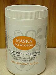 Маска для волос PROFI SALON для сухих и поврежденных волос, 1000мл.