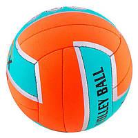 Мяч волейбольный сшитый RONEX GREEN CORDLY RX-GCD