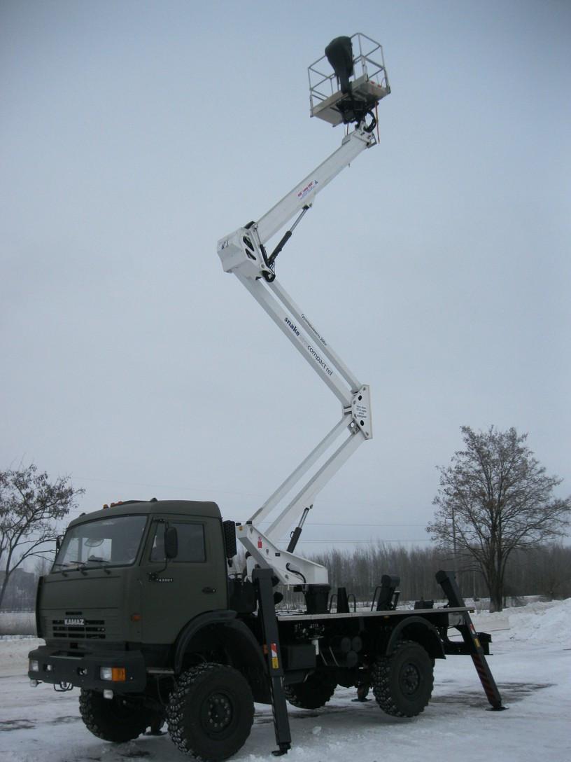 Подъемник мобильный стреловой СММ ПМС-2815-02