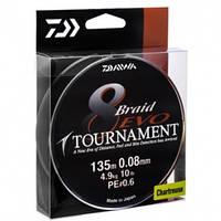 Плетеный шнур Daiwa Tournament 8 Braid Evo Chartreus