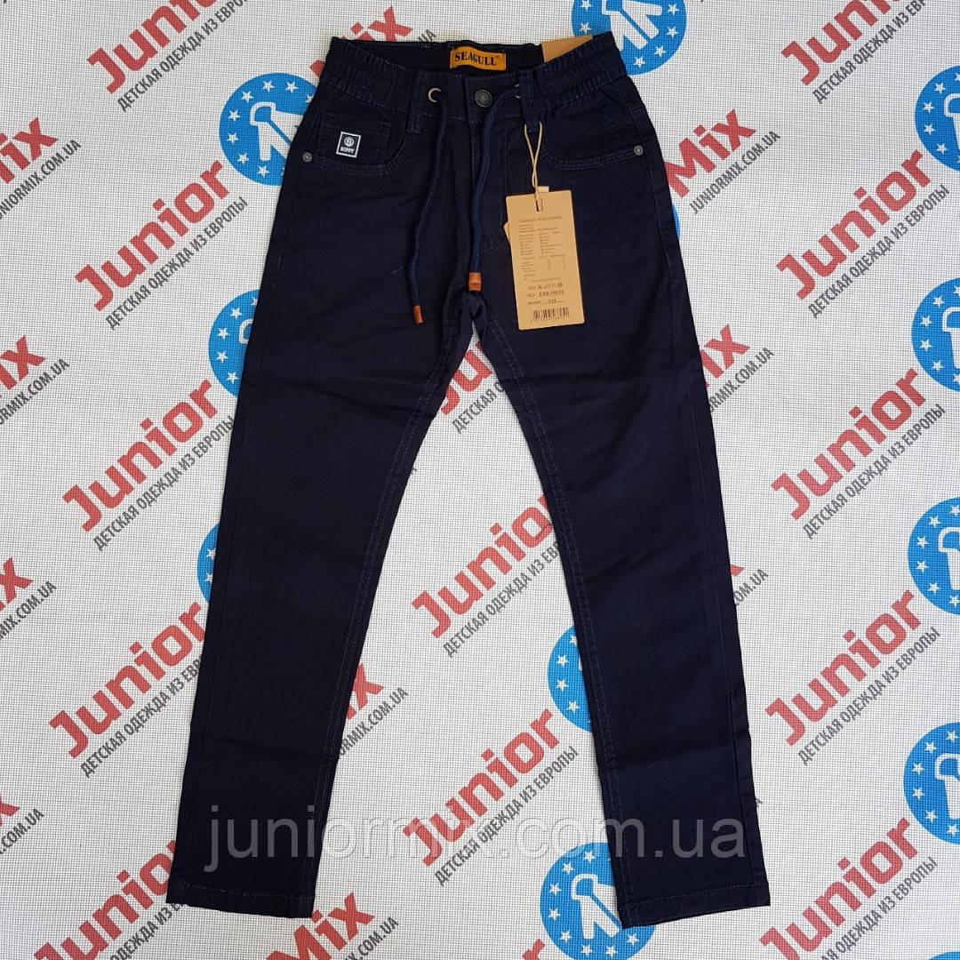 Котоновые подростковые детские брюки для мальчиков оптом SEAGULL