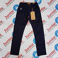 Котоновые подростковые детские брюки для мальчиков оптом SEAGULL, фото 1