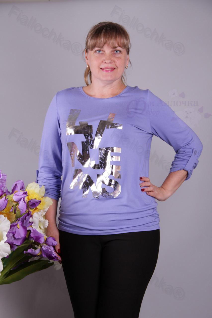 Блуза-туника трикотажная 429-осн621/2-128 батал от производителя Украина