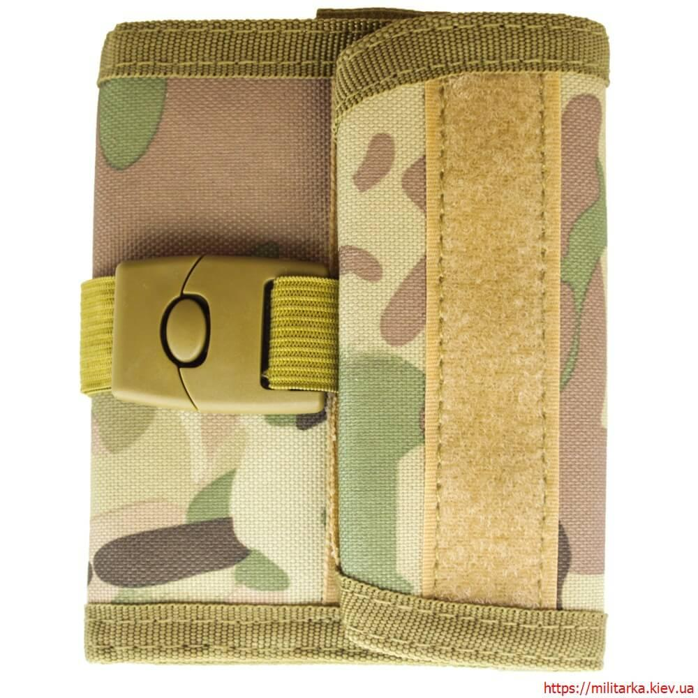 Военный кошелек с застежкой кордура мультикам
