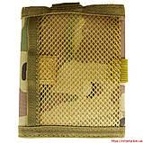 Военный кошелек с застежкой кордура мультикам, фото 2