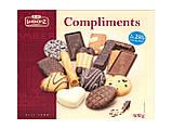 Печиво пісочне з шоколадом асорті Lambertz Compliments, 500 р., фото 2