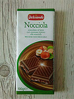 """Молочный шоколад """"Dolciando Nocciola"""" с фундуком, 100г."""