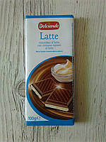 "Молочный шоколад ""Dolciando Latte"" со вкусом латте, 100г."