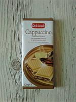 "Белый шоколад ""Dolciando Cappucino"" со вкусом капучино, 100г."