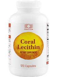Корал Лецитин Coral Lecithin, 120 капс