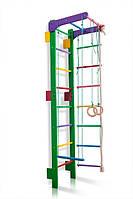 Спортивный детский уголок SportBaby TEENAGER 3-220-240 Green