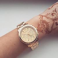 Часы наручные женские MK Золото, фото 1