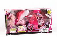 Лошадка с крыльями и каретой 83264, коробка р.62х18х32 см.