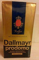 Кава  Dallmayr Prodomo зерно 500 грам. Склад: 100% Арабіка.