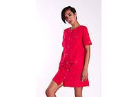 Платье Сафари красное