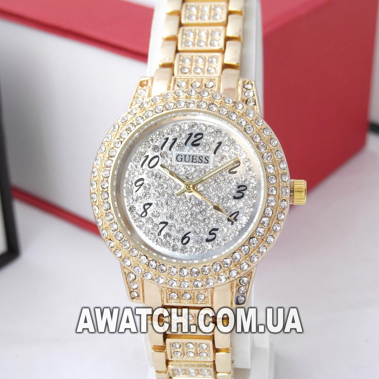 9da7bd74 Женские кварцевые наручные часы Guess B119 (561615911). Цена, купить ...