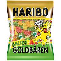 Жевательный мармелад Haribo Goldbaren Sauer (желейки харибо), 200 гр.