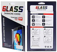 Защитное стекло для APPLE  iPhone 6 (0.15 мм, Fiber 3D рисунок Тигр чёрное) в комплекте с задней плёнкой