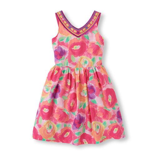 Платье летнее The Children's Place на рост 140-150 см для девочки